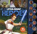 Star Wars Heroes HC (2020 Studio Fun) A 10-Button Sound Book 1-1ST