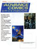 Advance Comics Orderbook (1989 Capital City Distribution) FEBRUARY 1993