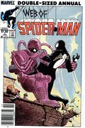 Web of Spider-Man (1985 1st Series) Annual Canadian Price Variant 1