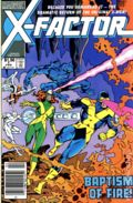 X-Factor (1986 1st Series) Canadian Price Variant 1