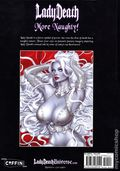 Lady Death More Naughty Artbook HC (2020 Coffin Comics) 1-1ST