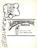 Memphis Film Festival (1982) Program Book JULY 1984