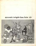 Detroit Triple Fan Fair (1965-1977) Convention Program 1977