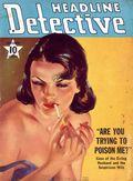 Headline Detective (1939-1944) True Crime Magazine Vol. 3 #4
