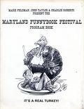Maryland Funnybook Festival Program Book (1975 Mark Feldman) 1975