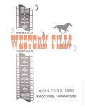 Knoxville Western Film Caravan (1985) Program Book APRIL 1991