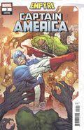 Empyre Captain America (2020 Marvel) 2B