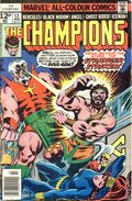 Champions (1975-1978 Marvel 1st Series) UK Edition 12UK