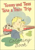 Tommy and Tess Take a Train Trip Coloring Book (1955) 0