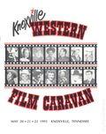 Knoxville Western Film Caravan (1985) Program Book MAY 1993