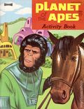 Planet of the Apes Activity Book (1974 Saalfield Publishing Co) 2433