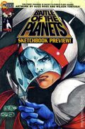 Battle of the Planets (2002) DF Sketchbook Preview 1DF