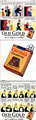 Old Gold Cigarette Giveaway (1925) 1925