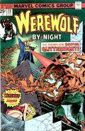 Werewolf by Night (1972 1st Series) Mark Jewelers 28MJ