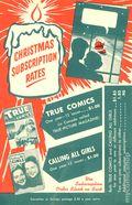 True Comics Christmas Subscription Card (1946) 1948