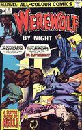 Werewolf by Night (1972 1st Series) UK Edition 29UK