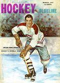 Blueline The Hockey Monthly (1954 Blueline Publishing) Vol. 3 #6