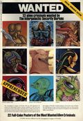 Wanted 22 Alien Criminals Wanted by the Intergalactic Security Bureau SC (1980 Bantam) A Poster Book 1-1ST