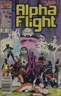 Alpha Flight (1983 1st Series) Mark Jewelers 33MJ