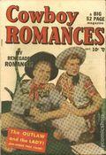Cowboy Romances (1949) 1