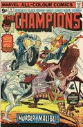 Champions (1975-1978 Marvel 1st Series) UK Edition 4UK