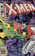 Uncanny X-Men (1963 1st Series) Mark Jewelers 191MJ
