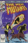 New Mutants (1983 1st Series) Mark Jewelers 1MJ