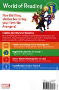 World of Reading: Avengers Five Super Hero Stories SC (2020 Marvel Press) A 5-in-1 Bind-Up Reader 1-1ST
