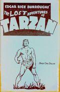 Edgar Rice Burroughs' The Lost Adventures of Tarzan (1970) Fanzine 1