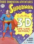 Three Dimension Adventures (of Superman) 1953 Original Ed. 1953A