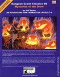 Dungeons and Dragons Mysteries of the Drow SC (2004 Goodman Games) Gaming Module 8