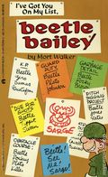 I've Got You On My List Beetle Bailey PB (1975 Tempo/Charter Books) 1-REP