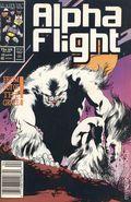 Alpha Flight (1983 1st Series) Mark Jewelers 45MJ