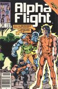 Alpha Flight (1983 1st Series) Mark Jewelers 28MJ