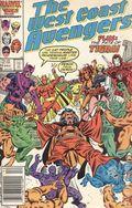 Avengers West Coast (1985) Mark Jewelers 15MJ