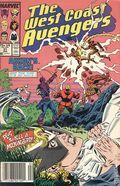 Avengers West Coast (1985) Mark Jewelers 31MJ