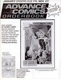 Advance Comics Orderbook (1989 Capital City Distribution) Jan 1992