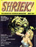 Shriek the Monster Horror Magazine (1965) 1