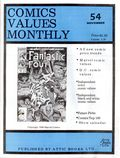 Comics Values Monthly (1986) 54