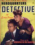 Headquarters Detective (1940) True Crime Magazine Vol. 4 #8