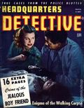 Headquarters Detective (1940) True Crime Magazine Vol. 4 #6