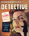 Headquarters Detective (1940) True Crime Magazine Vol. 6 #4