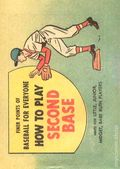 Finer Points of Baseball For Everyone: How to Play Second Base (1958) 1961