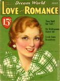 Dream World True Stories of Love and Romance (1924-1933 MacFadden) Jul 1933