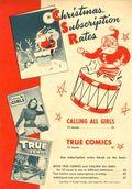 True Comics Christmas Subscription Card (1946) 1946