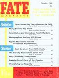 Fate Magazine (1948-Present Clark Publishing) Digest/Magazine Vol. 13 #10
