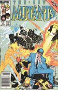 New Mutants (1983 1st Series) Mark Jewelers 37MJ