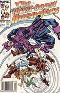 Avengers West Coast (1985) Mark Jewelers 19MJ