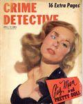 Crime Detective (1938-1953 1st Series) True Crime Magazine Vol. 12 #1