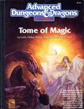 Advanced Dungeons and Dragons Tome Of Magic HC (1991 TSR) 0-2ND